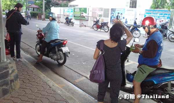 泰國Pattaya芭達雅摩托計程車 Motorcycle Taxi