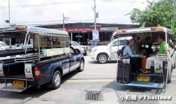 泰國Pattaya芭達雅藍色雙條車2.jpg
