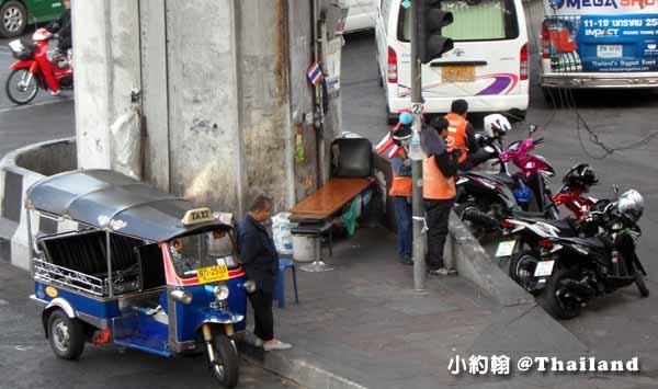 認識泰國的摩托計程車 Motorcycle Taxi
