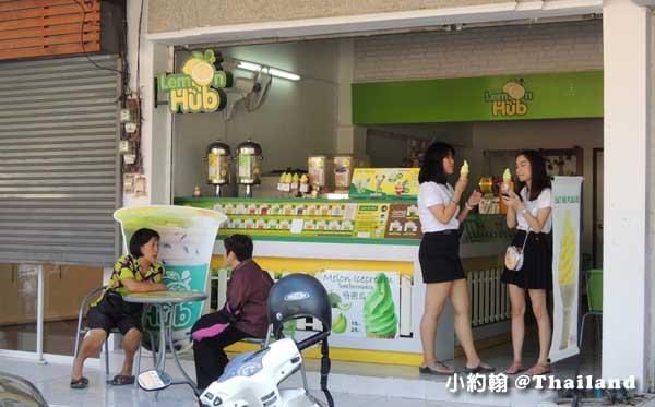 清邁Lemon Hub 哈蜜瓜蛋捲冰淇淋.jpg