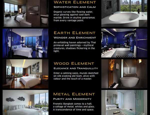 Sofitel So Bangkok Hotel索菲特曼谷五星飯店THE FIVE ELEMENTS