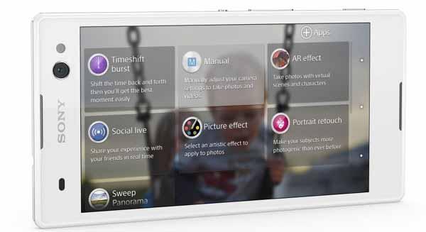 Sony Xperia C3郭雪芙自拍神機 相機功能選單.jpg