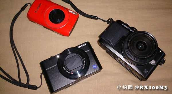 Sony RX100M3 大光圈相機 比較篇 Olympus E-PL5 Canon IXUS 300HS