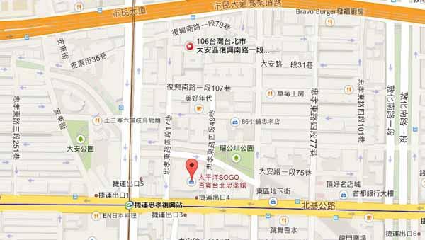 Cafe 515咖啡515 地圖map