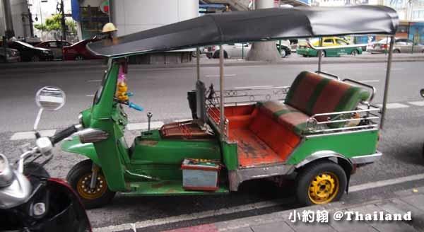 泰國曼谷-泰國嘟嘟車價錢 Tuk tuk1