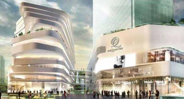 曼谷新購物商場The EmQuartier