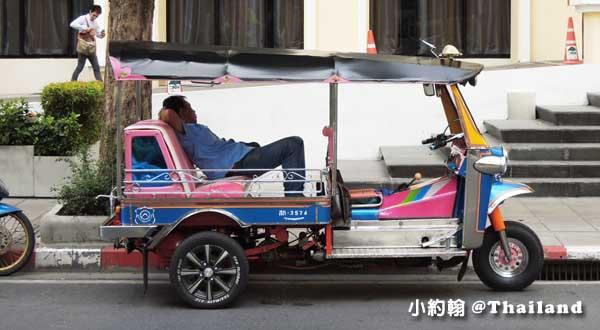 泰國曼谷- 嘟嘟車價錢 Tuk tuk