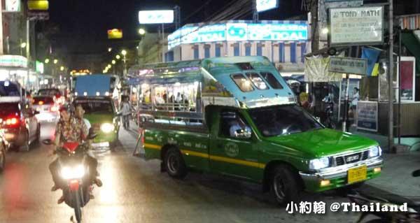 泰國華欣小公車 雙條車Songthaew(宋條)