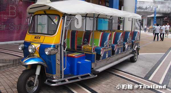 泰國曼谷mbk嘟嘟觀光車 Tuk tuk