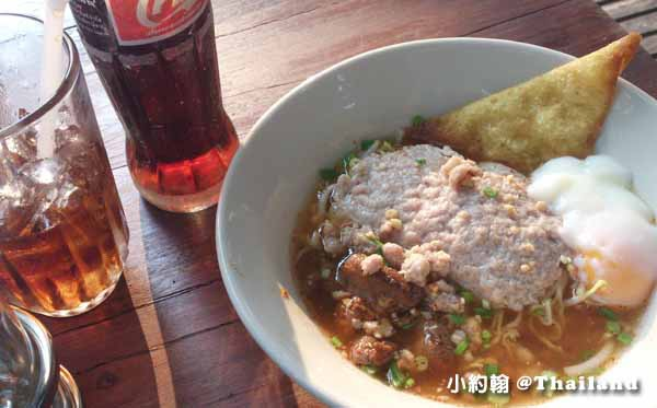 清邁一天花費多少錢吃飯Mince bounce pork and soft boil egg.jpg