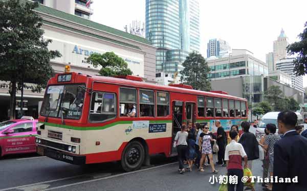 如何搭乘曼谷公車巴士Bangkok Bus@曼谷自由行交通工具