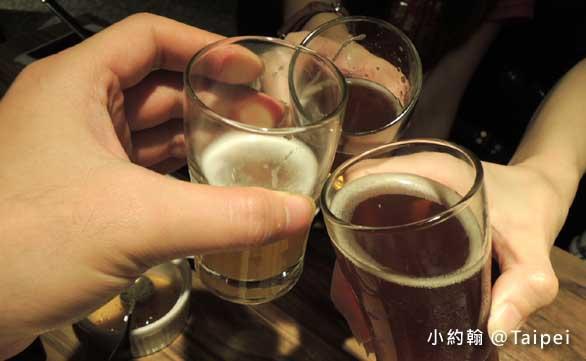台北Jolly Brewery Restaurant 卓莉手工釀啤酒泰食餐廳beer2