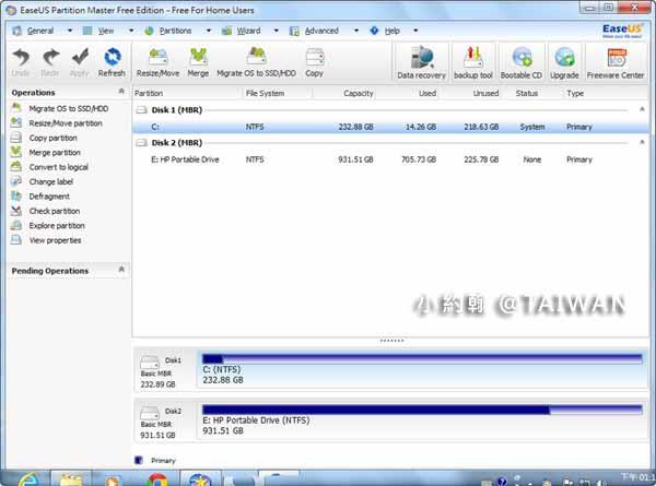 硬碟分割軟體教學EASEUS Partition Master(EPM)免費下載10.jpg