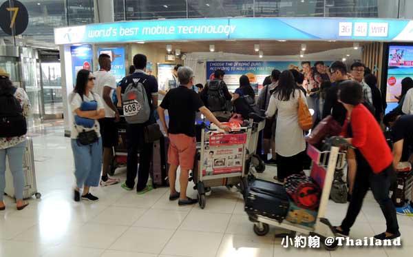 泰國曼谷-泰國七天六夜自由行-機場辦AIS手機上網