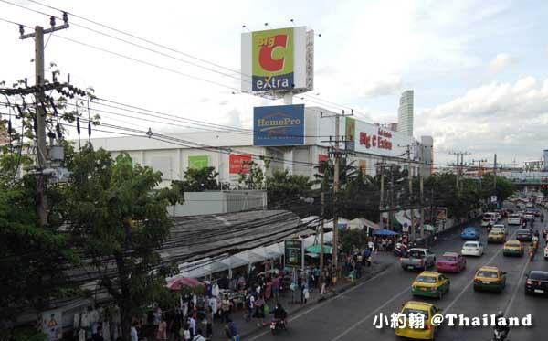 泰國曼谷-泰國七天六夜自由行地鐵Thailand Cultural Centre泰國文化中心站4號Big C大超市.jpg