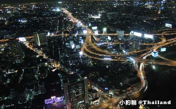 泰國曼谷-Baiyoke Sky Hotel看曼谷夜景