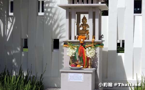泰國曼谷- U Sathorn Bangkok曼谷沙通U渡假村飯店四面佛.jpg
