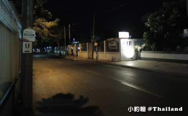 泰國曼谷- U Sathorn Bangkok曼谷沙通U渡假村飯店深夜.jpg
