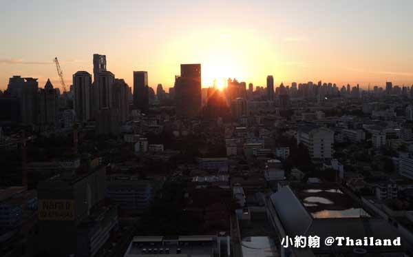 Anantara Bangkok Sathorn Hotel曼谷安娜塔拉沙通五星級公寓式飯店清晨2.jpg
