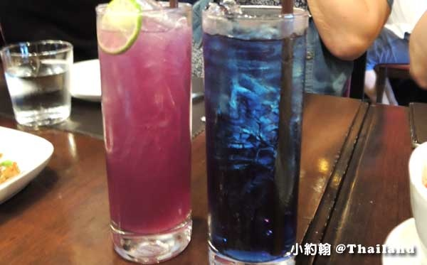 泰國曼谷- 泰國8天7夜旅遊(上)Central World-Taling Pling savoury thai cuisen 蝶豆Butterfly Pea.jpg