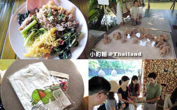 泰國8天7夜(下)綠色旅遊Asita Eco Resort早餐毛巾秀 禮品
