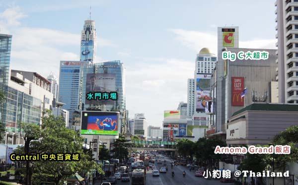 泰國曼谷Arnoma Grand Bangkok曼谷阿諾瑪飯店絕佳位置.jpg