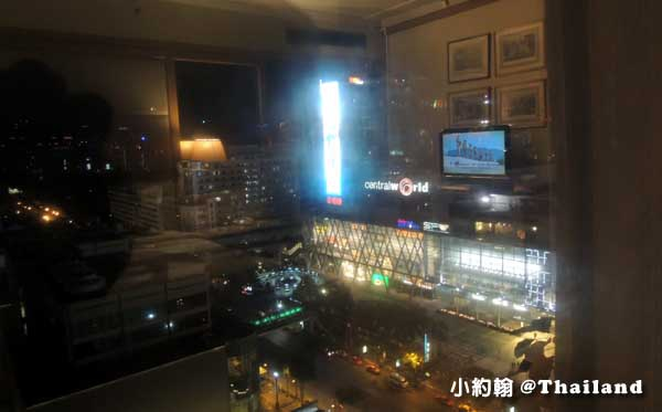 Arnoma Grand Bangkok曼谷阿諾瑪飯店窗外central world2