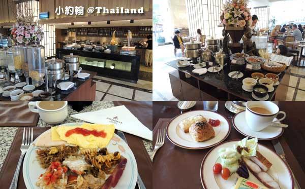 Arnoma Grand Bangkok曼谷阿諾瑪飯店早餐吧