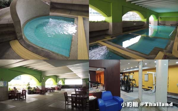 Arnoma Grand Bangkok曼谷阿諾瑪飯店泳池健身房