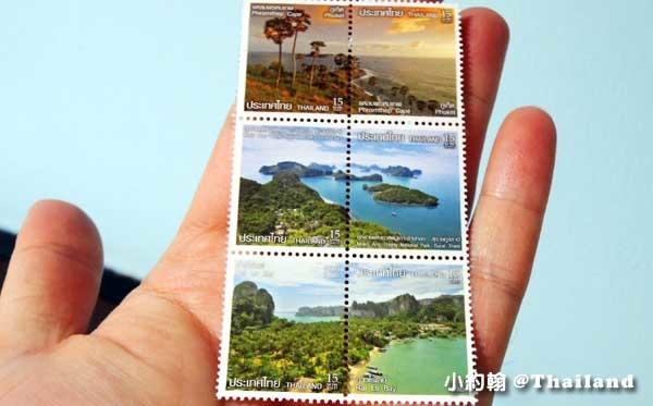泰國 郵票 小約翰送明信片 從泰國機場寄明信片回台灣.jpg