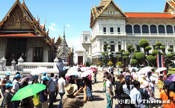 泰國曼谷旅遊防曬滿街傘.jpg