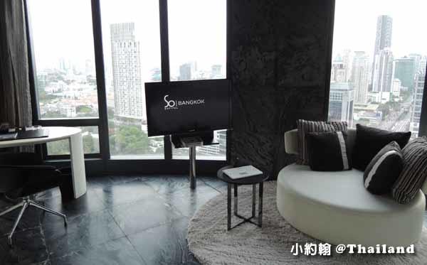 Sofitel So Bangkok Hotel索菲特曼谷五星飯店water水元素房間.jpg
