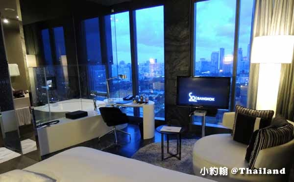 Sofitel So Bangkok Hotel索菲特曼谷五星飯店water水元素房間3.jpg