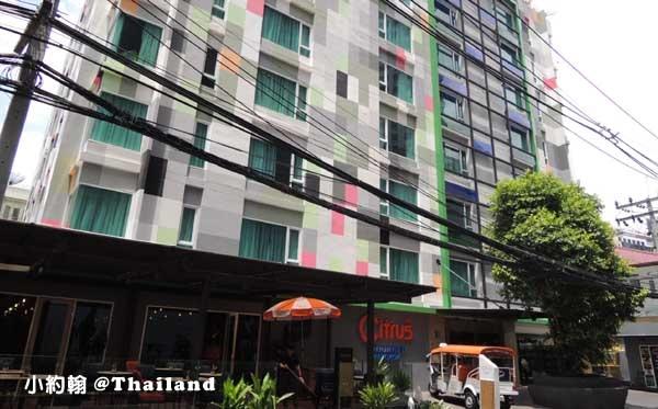 泰國曼谷飯店Citrus Sukhumvit 11小清新柑橘商旅@捷運Nana站.jpg