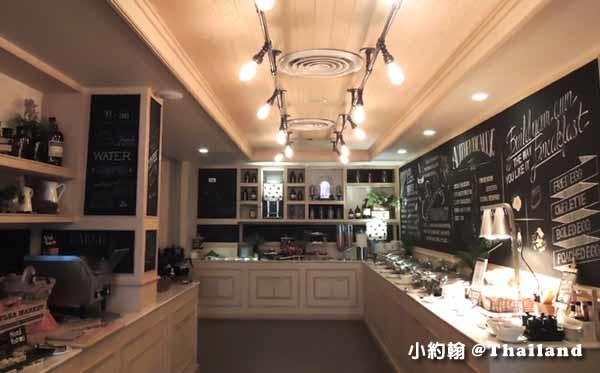 泰國曼谷飯店Citrus Sukhumvit 11柑橘商旅捷運Nana站早餐吧.jpg