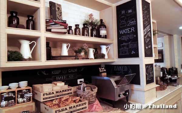 泰國曼谷飯店Citrus Sukhumvit 11柑橘商旅捷運Nana站早餐吧3.jpg