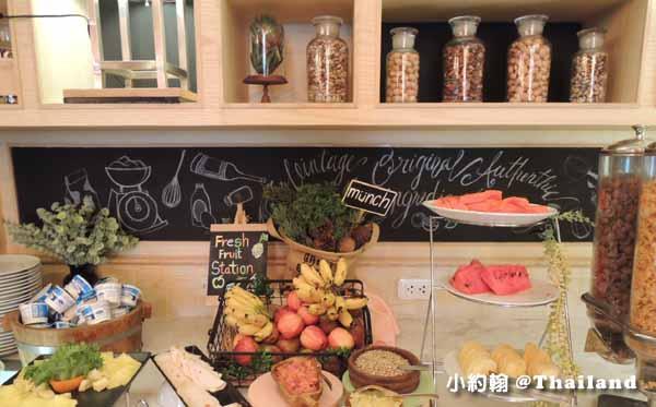 泰國曼谷飯店Citrus Sukhumvit 11柑橘商旅捷運Nana站早餐吧6.jpg