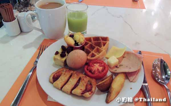 泰國曼谷飯店Citrus Sukhumvit 11柑橘商旅捷運Nana站早餐吧7.jpg