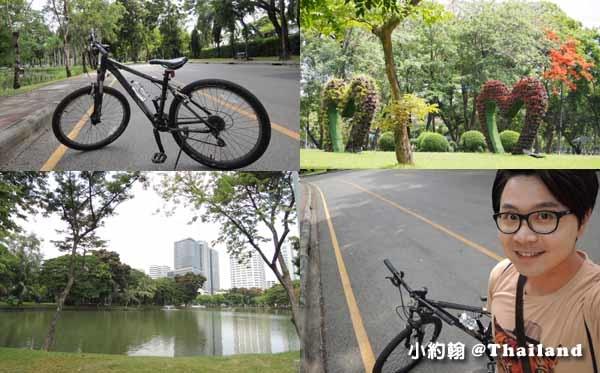 Sofitel So Bangkok Hotel完成了我騎單車逛Lumphini Park倫披尼公園的夢想