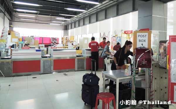 小約翰送書友明信片,從泰國機場寄明信片回台灣.jpg