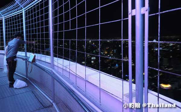 曼谷看夜景Baiyoke Sky Hotel 84樓360度旋轉觀景台10.jpg