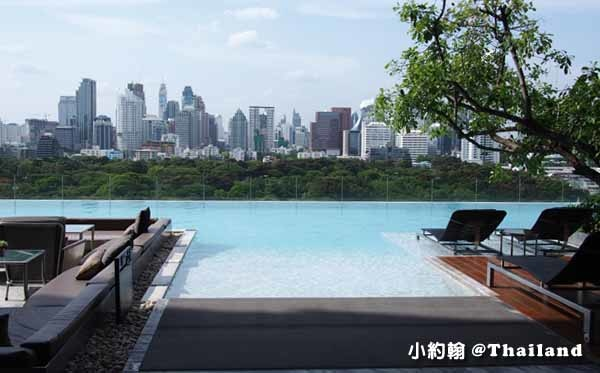 Sofitel So Bangkok Hotel Infinity swimming pool高空美景游泳池.jpg