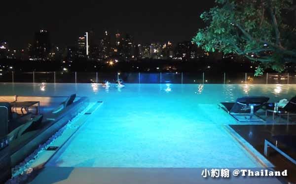 Sofitel So Bangkok Hotel Infinity swimming pool高空美景游泳池2.jpg