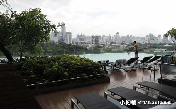 Sofitel So Bangkok Hotel Infinity swimming pool高空美景游泳池3.jpg
