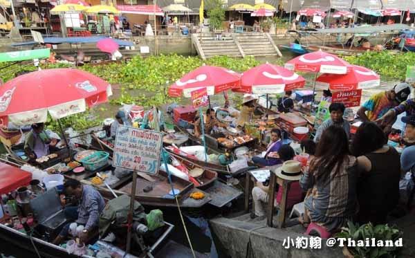 泰國曼谷-泰國七天六夜自由行安帕瓦水上市場市Amphawa Floating Market