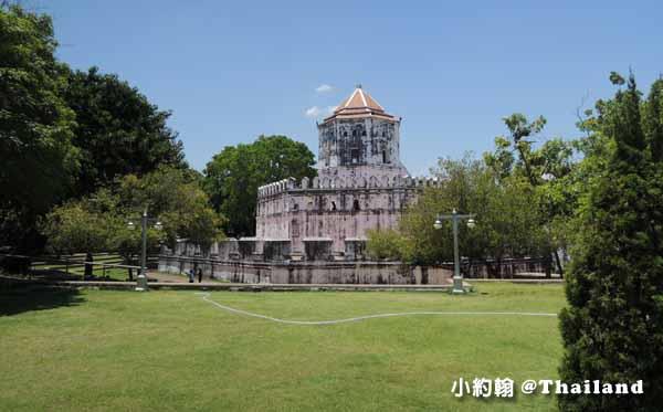 泰國曼谷七天六夜自由行- Phra Sumen Fort Pom Pra Sumen帕蘇曼堡壘.jpg