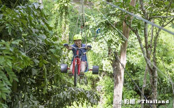 Tree Top Adventure Park山頂叢林冒險公園,緊張又刺激@泰國北碧府.jpg