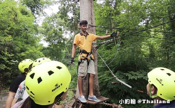 Tree Top Adventure Park山頂叢林冒險公園,緊張又刺激@泰國北碧府3.jpg