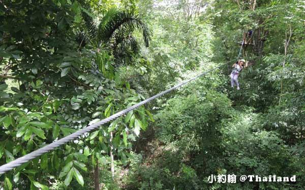 Tree Top Adventure Park山頂叢林冒險公園,緊張又刺激@泰國北碧府6.jpg