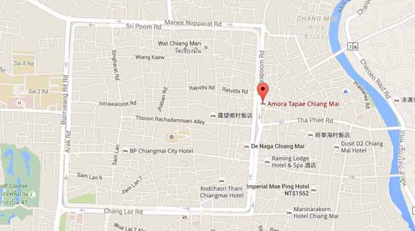 Amora Thapae Hotel Chiang Mai清邁阿莫拉塔佩飯店map.jpg